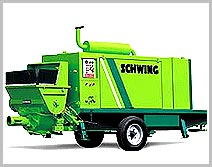 Concrete Trailer Pumps