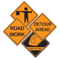 Road Construction Warning Signs