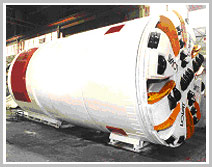Double Shield Tunnel Boring Machine