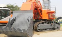 Open Face Excavator with Hoe