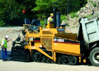 Asphalt Paver : The Essentials